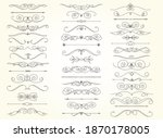 set of text delimiters for your ...   Shutterstock .eps vector #1870178005