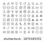 line art icon set of esoteric...   Shutterstock .eps vector #1870185352