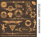set of design elements for...   Shutterstock .eps vector #187021712
