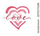 vector lettering illustration... | Shutterstock .eps vector #1870274188
