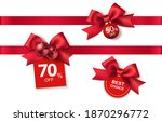 new year winter and christmas... | Shutterstock .eps vector #1870296772