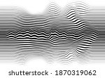 abstract flow lines background .... | Shutterstock .eps vector #1870319062