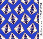 mediterranean geometric evil...   Shutterstock .eps vector #1870497268