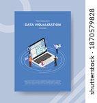 technology data visualization...   Shutterstock .eps vector #1870579828