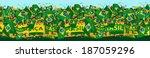 Brazil soccer fans - stock vector