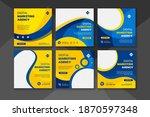 digital business marketing...   Shutterstock .eps vector #1870597348