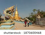 Buddhism Temple In Thailand...