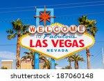 las vegas sign. welcome to... | Shutterstock . vector #187060148