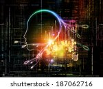 artificial intelligence series. ... | Shutterstock . vector #187062716