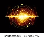 atomic series. abstract concept ... | Shutterstock . vector #187063742