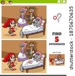 cartoon illustration of finding ... | Shutterstock .eps vector #1870670635