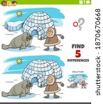 cartoon illustration of finding ... | Shutterstock .eps vector #1870670668