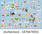 signs and symbols for organized ... | Shutterstock .eps vector #1870674052