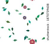 floral abstract background... | Shutterstock .eps vector #1870739608
