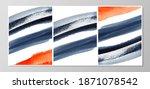 set of minimalistic hand... | Shutterstock . vector #1871078542