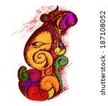 Lord Ganesha Illustration Vector