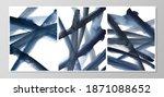 set of minimalistic hand... | Shutterstock . vector #1871088652