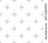seamless modern pattern with... | Shutterstock .eps vector #1871282095