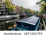 Canal In Amsterdam The...