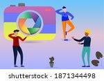vector illustration  people...