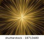 vector fireworks  see jpeg also ... | Shutterstock .eps vector #18713680