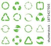biodegradable  compostable ...   Shutterstock .eps vector #1871427505