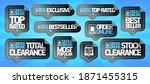 order online stickers... | Shutterstock .eps vector #1871455315