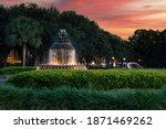 Charleston Pinapple Fountain...