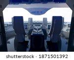 inside view of an amazing... | Shutterstock . vector #1871501392