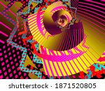 Colorful Spiral Trippy Art...