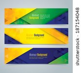 collection banner design ...   Shutterstock .eps vector #187154048