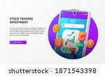 stock broker app for trading or ...