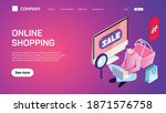 online shopping. web site...