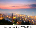 izmir at nighttime. view from... | Shutterstock . vector #187169216