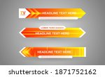 set collection vector of... | Shutterstock .eps vector #1871752162