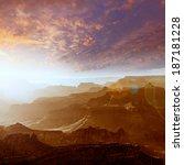 arizona sunset grand canyon...