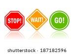 vector access signs | Shutterstock .eps vector #187182596