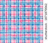 seamless watercolor pattern in... | Shutterstock . vector #1871870062