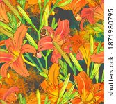 abstract bright flowers.... | Shutterstock . vector #1871980795
