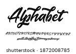calligraphy decorative abc... | Shutterstock .eps vector #1872008785