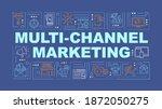 multi channel marketing word...