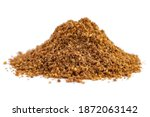 Ground Caraway Heap Isolated On ...