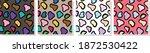 leopard animal skin pattern... | Shutterstock .eps vector #1872530422