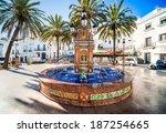 The Main Square In Vejer De La...