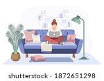 concept united community. home... | Shutterstock .eps vector #1872651298