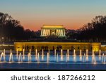 Постер, плакат: Abraham Lincoln Memorial and