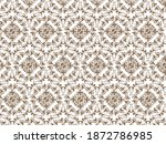traditional seamless pattern... | Shutterstock .eps vector #1872786985