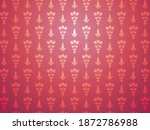 traditional seamless pattern... | Shutterstock .eps vector #1872786988