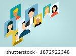 isometric  image illustrations... | Shutterstock .eps vector #1872922348