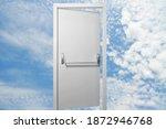An Open Door In The Blue Cloudy ...